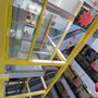 Ascensor panoramic cu structura portanta proprie